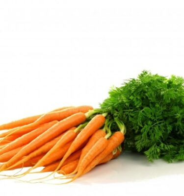 Carote a mazzi 375x400 - Carrots with green